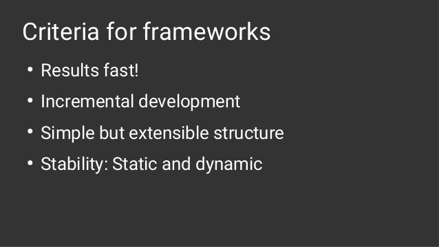 StripeCon EU 2018 - SilverStripe 4 application framework Slide 3
