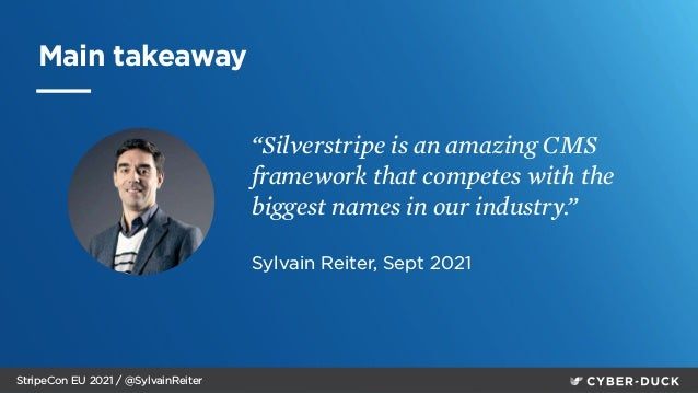 How to sell SilverStripe in the enterprise and public sector markets - StripeCon EU 2021 Slide 2