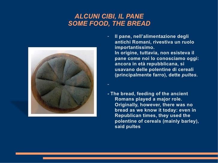 Come e cosa mangiavano gli antichi romani for Cibi romani