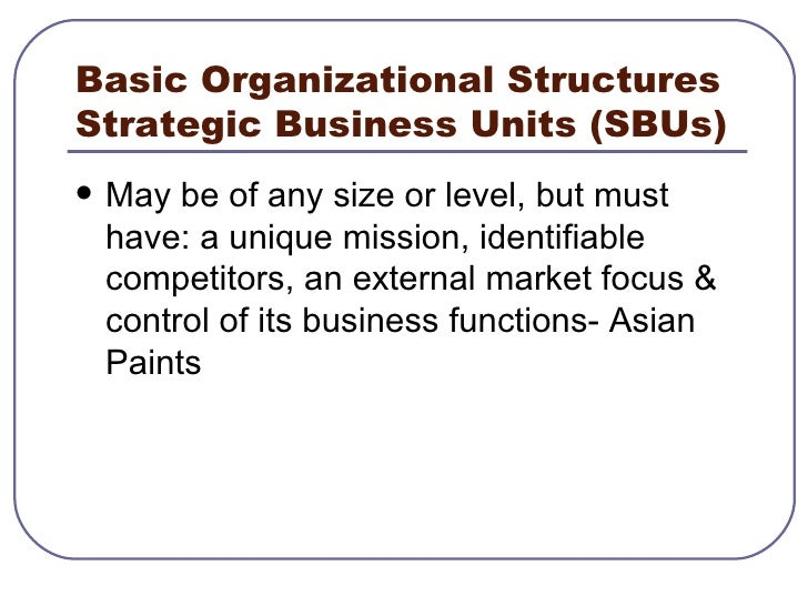 internal scanning Strategic management internal scanning and organizational analysis organizational analysis organizational analysis concerned with identifying and.