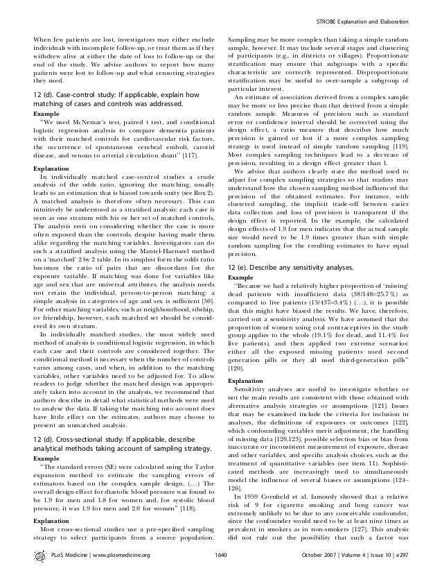 Strobe estudios observacionales-revision