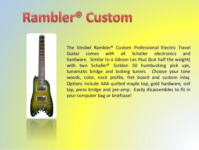 Strobel electric guitars www strobelguitars com