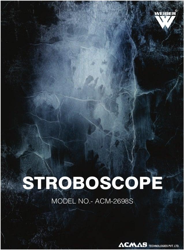 R  STROBOSCOPE MODEL NO.- ACM-2698S
