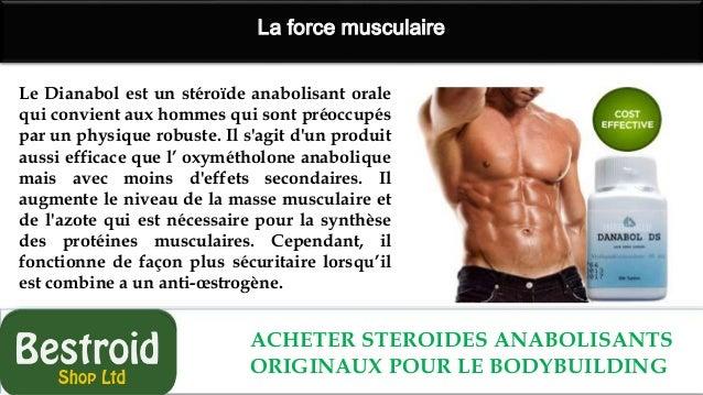 Stéroïdes anabolisants pour la musculation