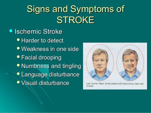Nausea and facial numbness