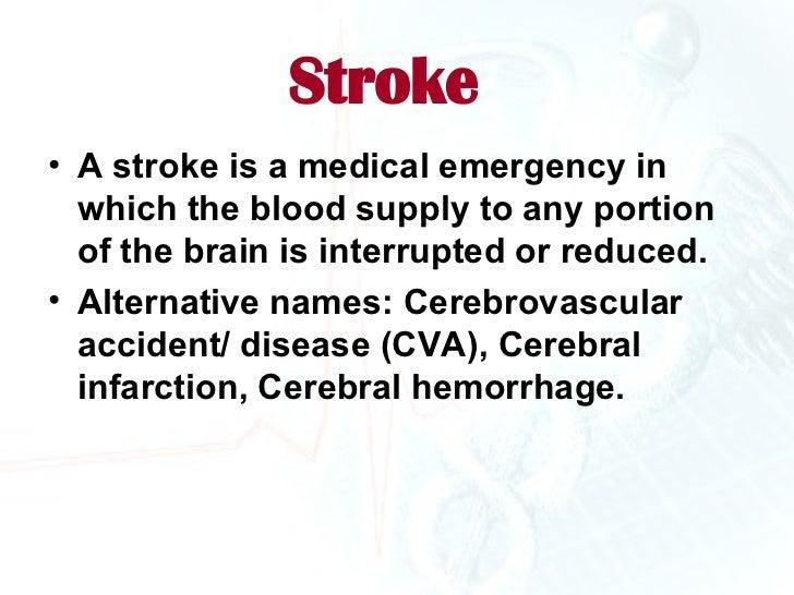 Stroke Presentation Ms
