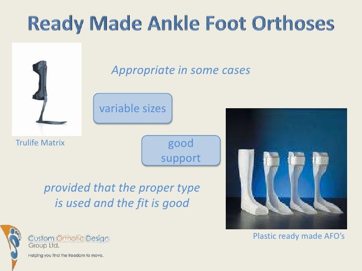Stroke And Foot Drop Treatment Solutions