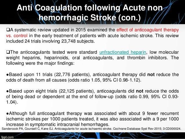 australian guidelines for the managment of stroke