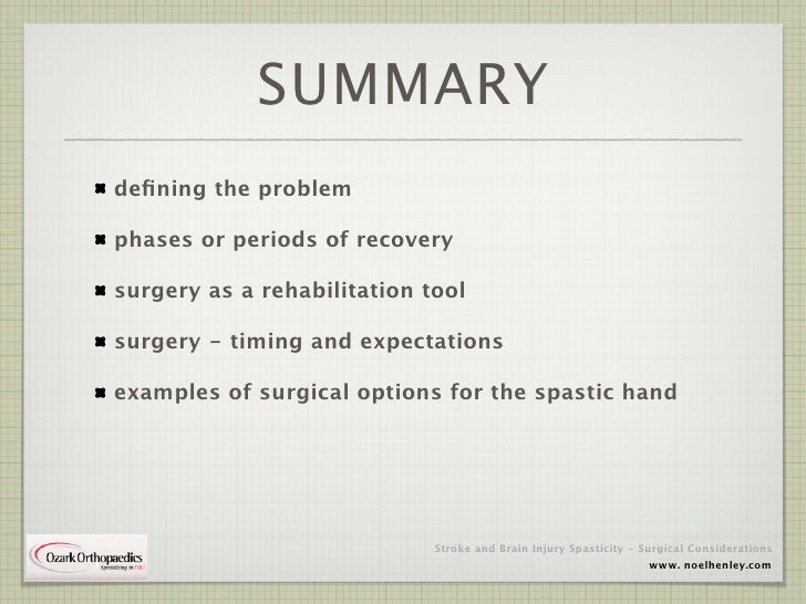 Spasticity in Stroke and Brain Injury Patients Slide 3