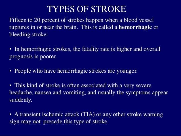 Stroke, CVA, Cerebrovascular accident talk