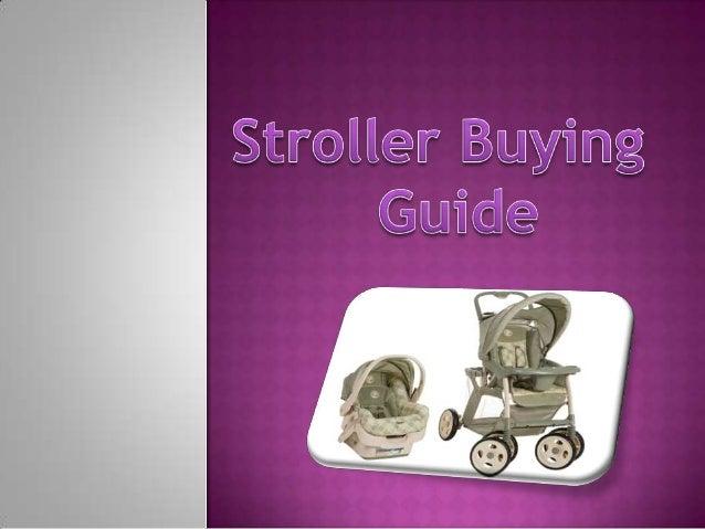 Stroller Buying Guide