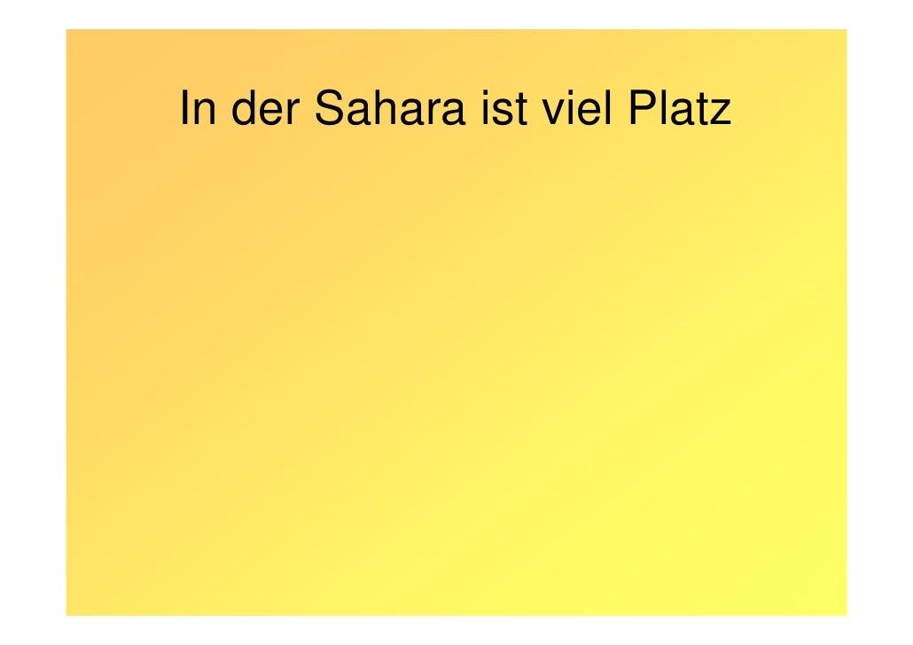 Strom aus der Sahara Slide 3