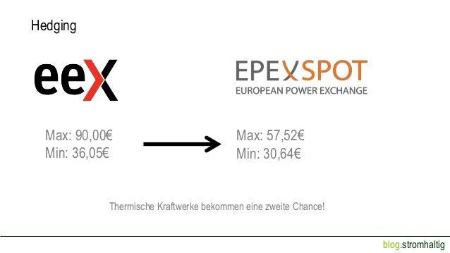 Hedging  Max: 90,00€ Min: 36,05€  Max: 57,52€ Min: 30,64€  Thermische Kraftwerke bekommen eine zweite Chance! blog.stromha...