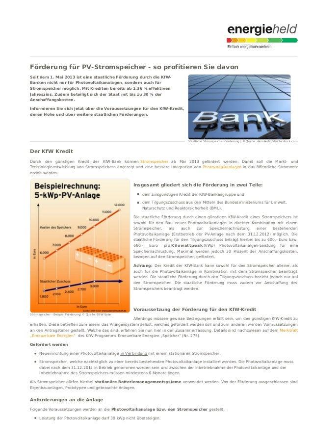 Staatliche Stromspeicher-Förderung | © Quelle: daniilantiq/shutterstock.com Stromspeicher - Beispiel Förderung| © Quelle: ...