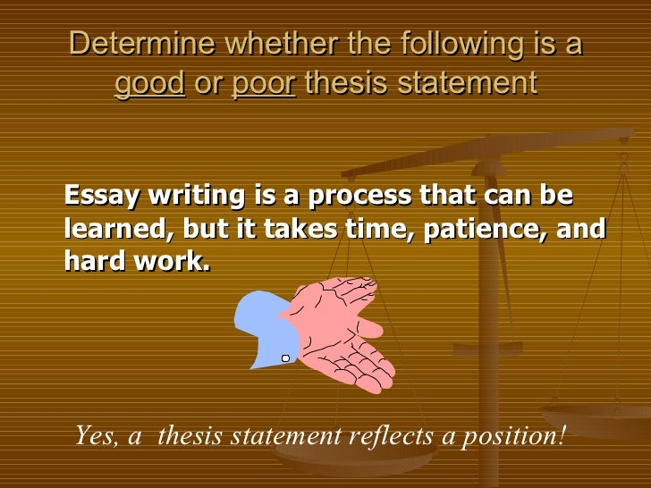 Writing Good Thesis Statements Worksheet – 631653