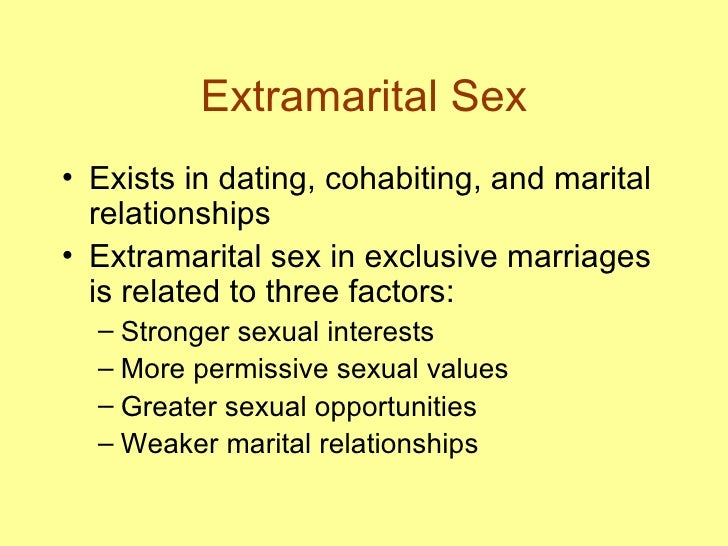 traditionalization of the marital relationship occurs when weaker