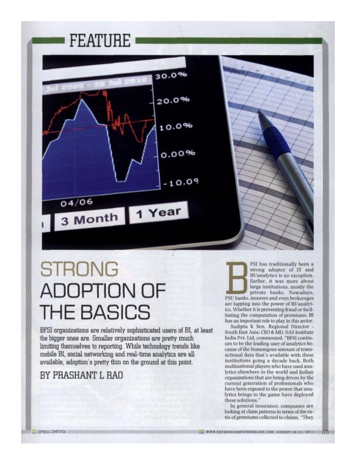 Strong Adoption Of The Basics