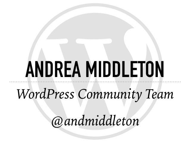 Stronger together: how WordPress communities are built Slide 2