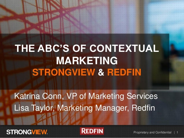 Proprietary and Confidential | 1 HEADLINE EXAMPLE Katrina Conn, VP of Marketing Services Lisa Taylor, Marketing Manager, R...