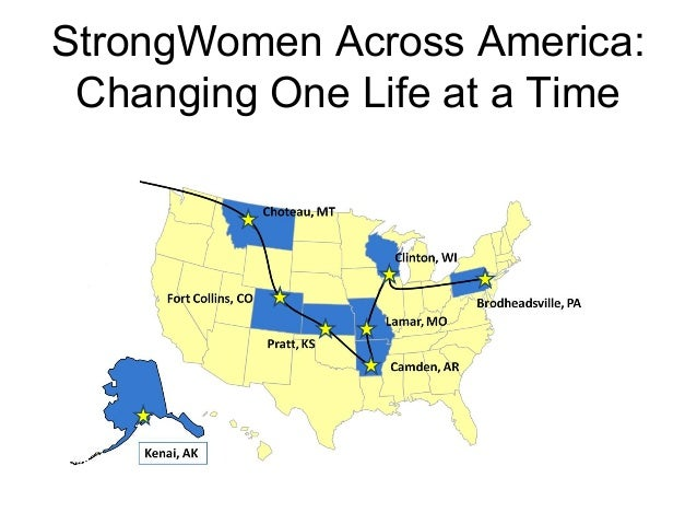 StrongWomen Across America: Changing One Life at a Time
