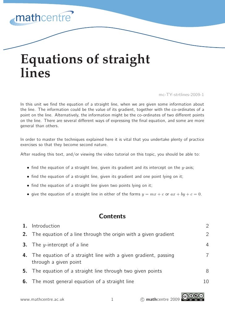 Equations of straightlines                                                                          mc-TY-strtlines-2009-1...