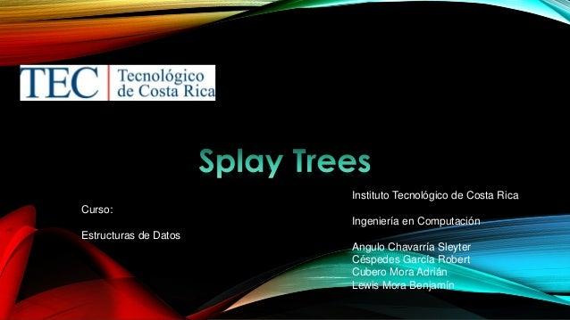 Instituto Tecnológico de Costa Rica Curso: Ingeniería en Computación  Estructuras de Datos Angulo Chavarría Sleyter Césped...