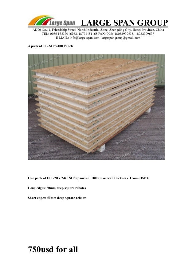 sips panels price