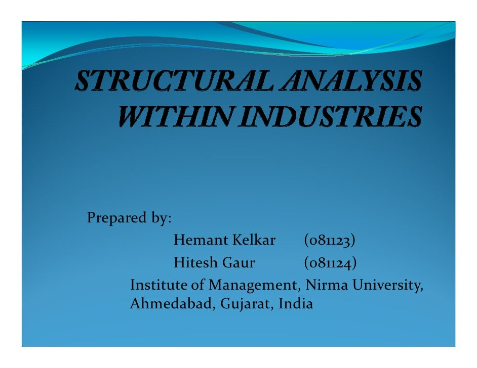 industry structure analysis Trends influencing industry structure competitors substitutes potential entrants strategic management industry analysis notes page 12 dkd macro-environmental.