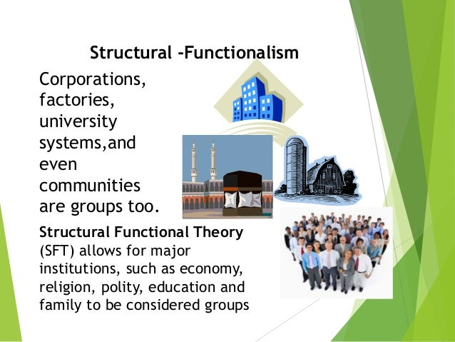 structural functionalism ppt
