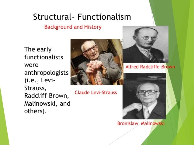 major assumptions of structural functional theory
