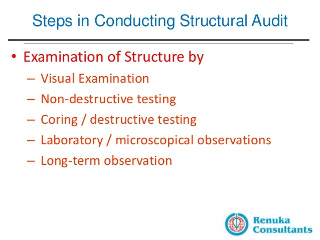 Structural Testing Laboratory : The whys hows of structural audit buildings