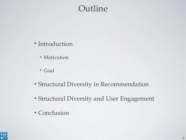 Structural Diversity in Social Recommender Systems Slide 3