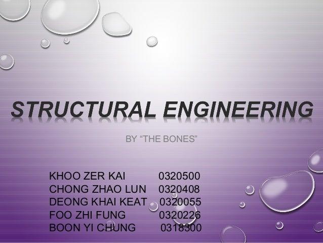"""BY """"THE BONES""""  KHOO ZER KAI 0320500  CHONG ZHAO LUN 0320408  DEONG KHAI KEAT 0320055  FOO ZHI FUNG 0320226  BOON YI CHUNG..."""