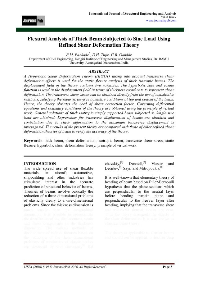 Structural Engineering and Analysis Vol 2 Issue 2