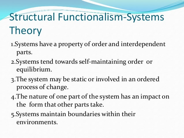 Structural Functionalism vs Conflict Theory