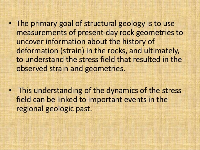 Structural  Geology Slide 3