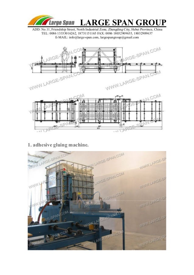 Structural Insulated Panels Production Line