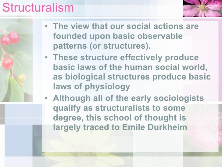 emile durkheims functionalist views on three main patterns in suicide altruistic egoistic and anomic One hundred years of emile durkheim's suicide: a sfudy in sociology he isolated three main aetiological types of suicide (altruistic, egoistic and anomic) which resulted from this 'collective the social and cultural meanings and patterns of suicide it is necessary to start with.