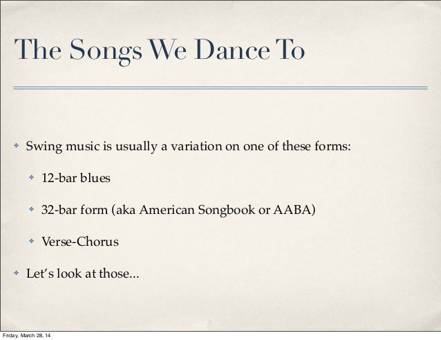 structural musicality in swing dancing