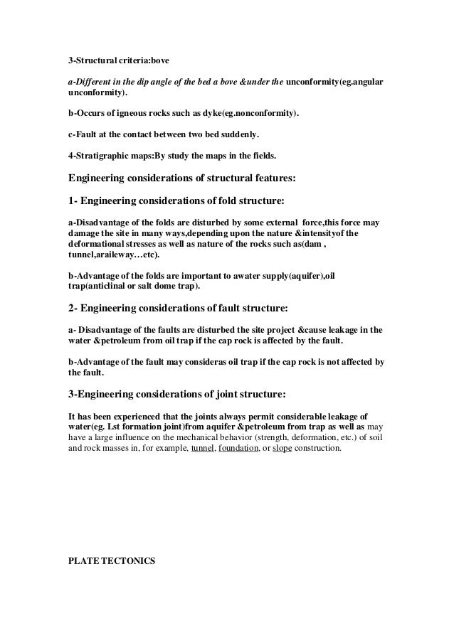 Engineering geology study material