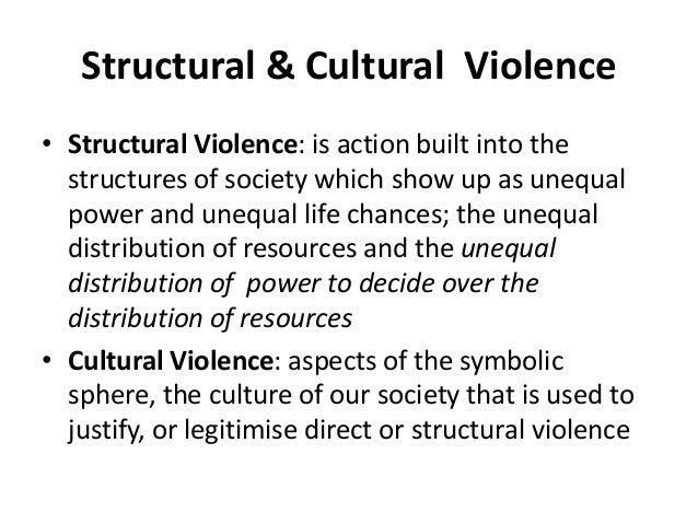 culture of violence theory definition