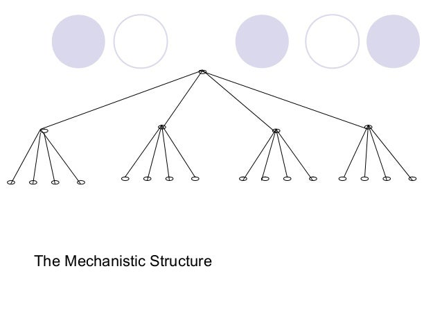 innovation perspectives mechanistic or organic Innovation is the means by which organizations survive  innovation management: critical perspectives on business  'mechanistic and organic systems of.