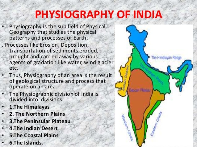 PHYSIOGRAPHY OF INDIA EBOOK DOWNLOAD