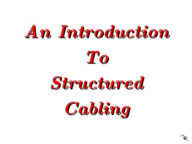 Computer network cabling ppt.