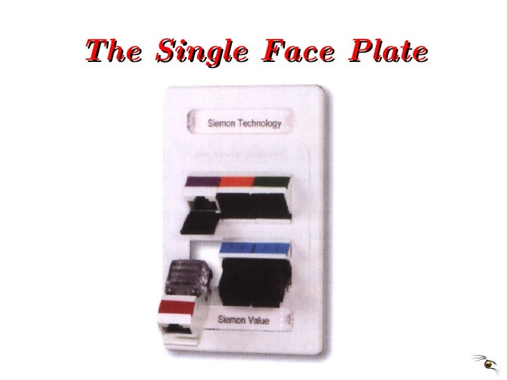 The Single Face Plate