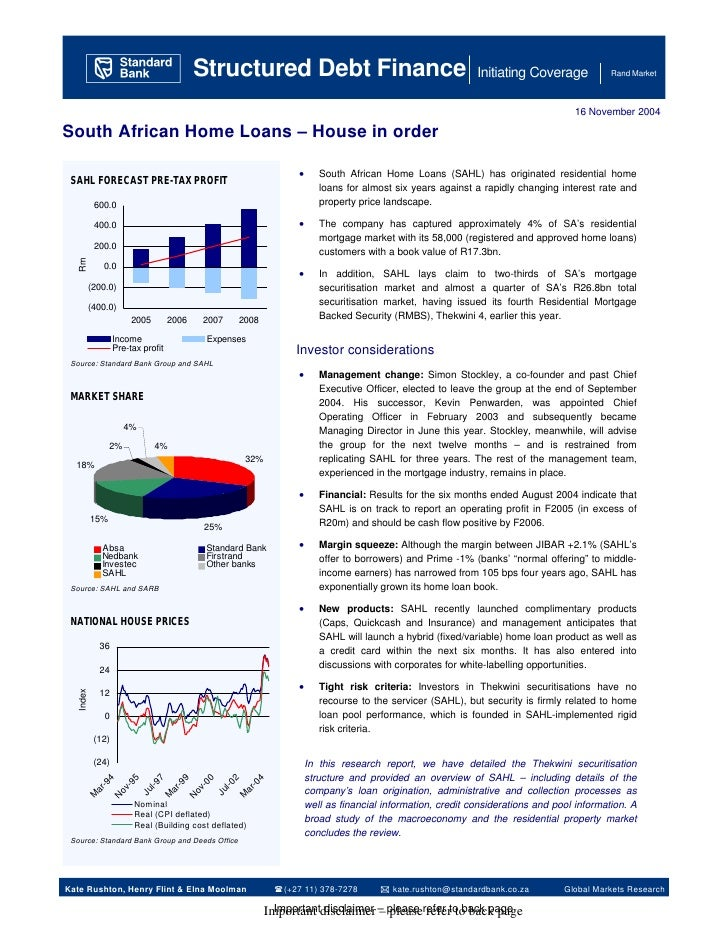 A Structured Debt Finance                                                                           Initiating Coverage   ...