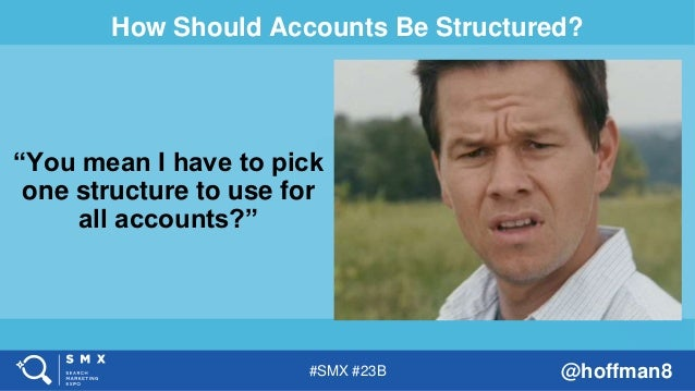 The Great Structure Debate - SMX West - Amy Bishop Slide 3