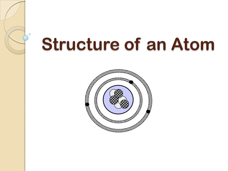 Structure of an Atom ppt cscope
