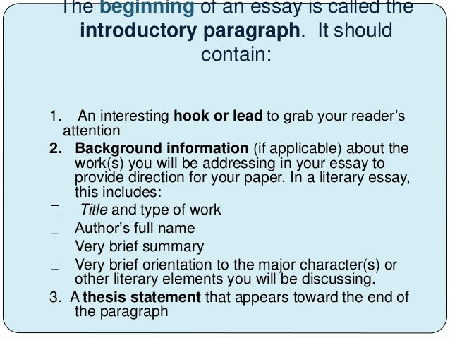 the structure of an essay Home current students learning resources writing center writing resources parts of an essay paragraph structure paragraph structure use effective paragraph structure to explain and support.