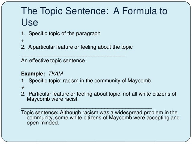 racism thesis sentence A good thesis statement defines the purpose of an essay and unifies a writer's   modified thesis: ironically, although key to huck's seeing beyond racism, jim's.